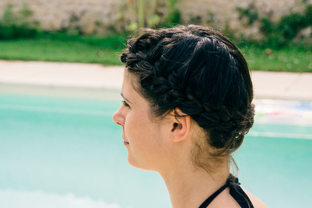 Tuto coiffure : tresse couronne