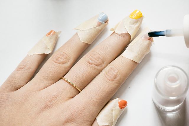 Nail Art Arlequin-3