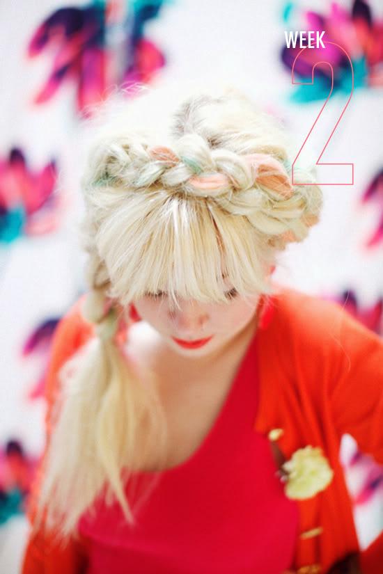 Design Love Fest - Hair Chalk