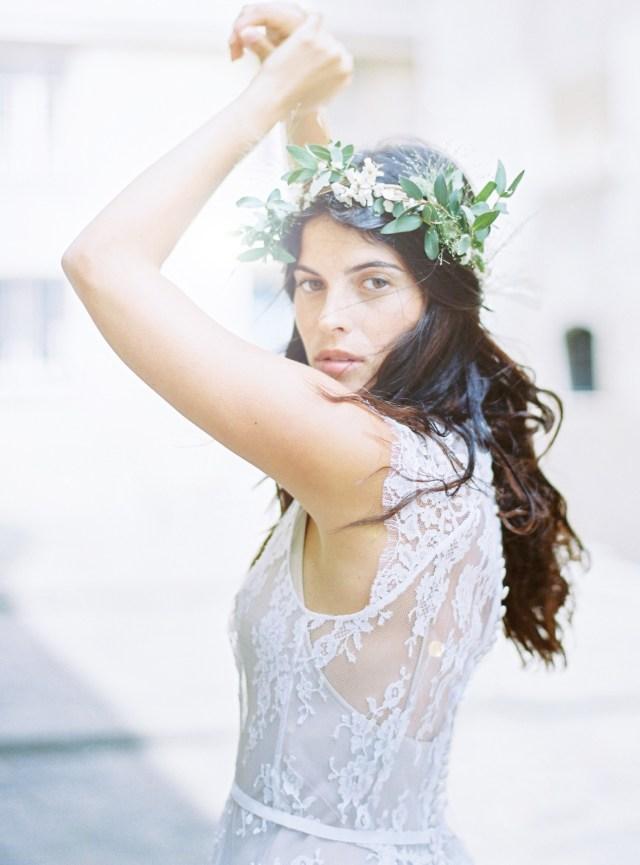 Une mariée à Paris - La mariée aux pieds nus