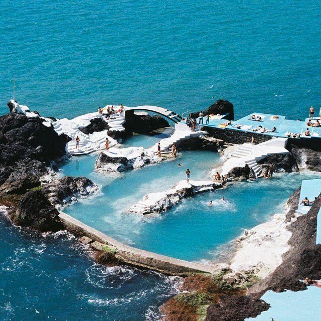 Lava Pool In Maderia