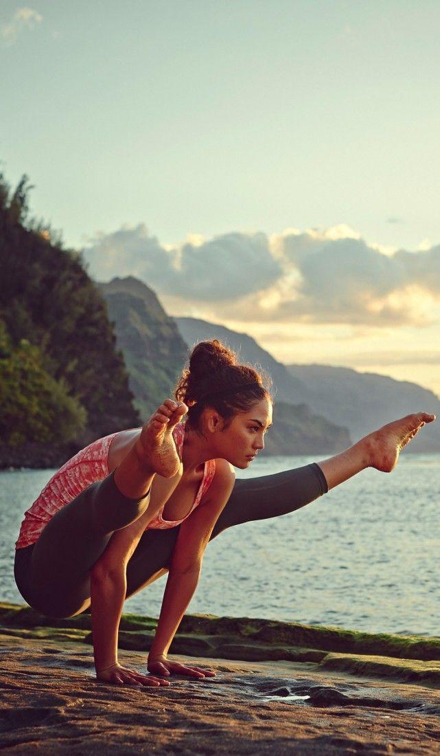 Mary Glover Yoga Pose