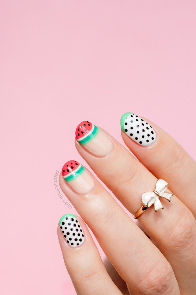 Pasteque Nails