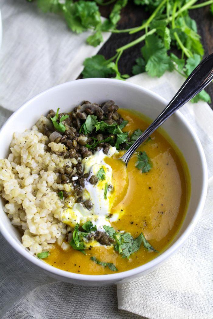 Riz Lentilles Soupe