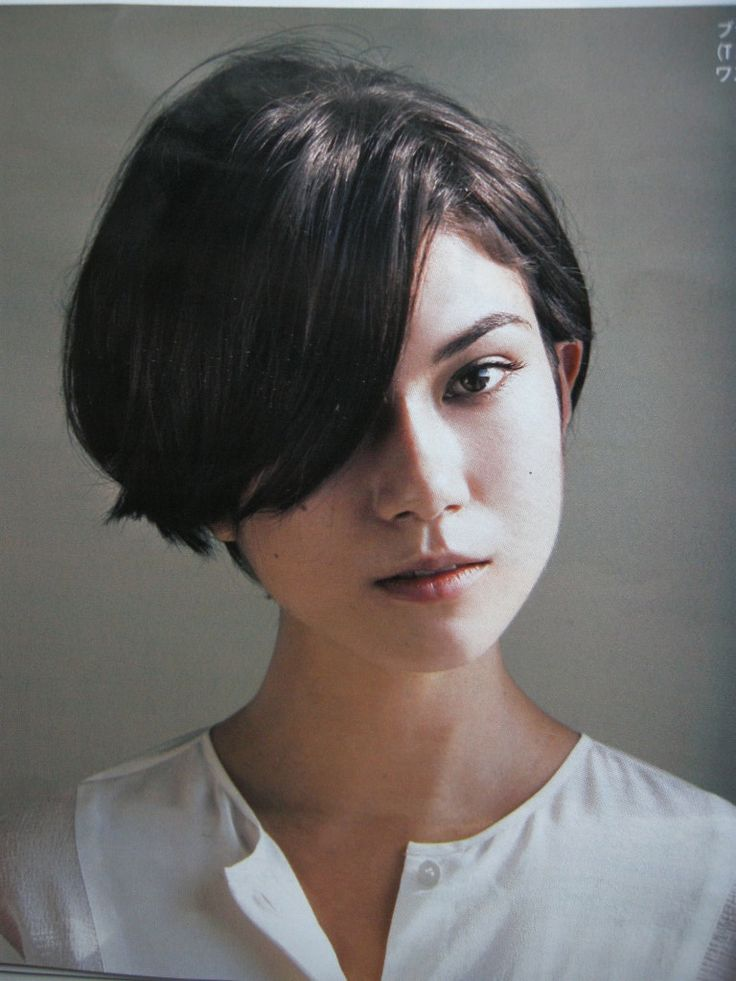 Pin Short Hair Cut