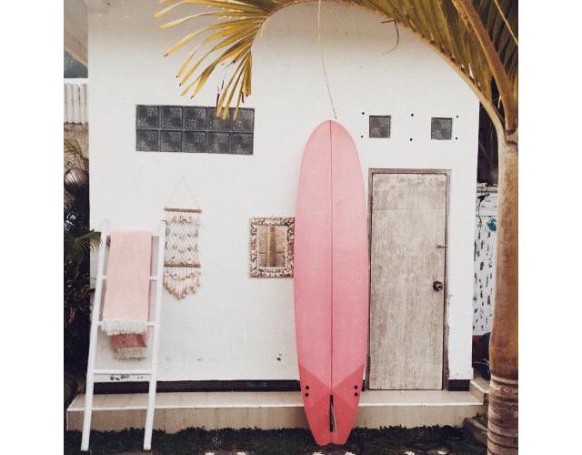 Pin Pink Surf