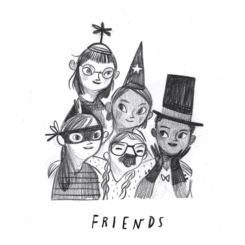 Rebecca Green - Friends