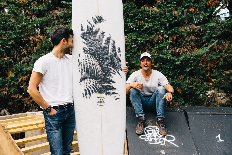 Chipiron Surfboards x Alain Bourdon - Tropical City