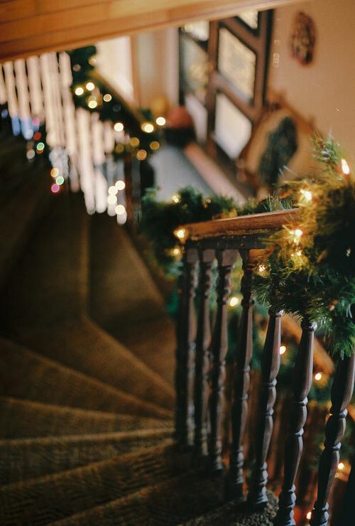 Maison à Noël
