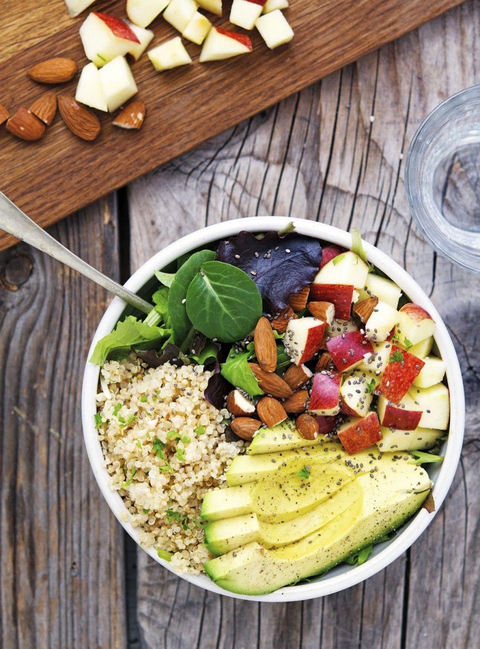 salade-quinoa-et-pommes