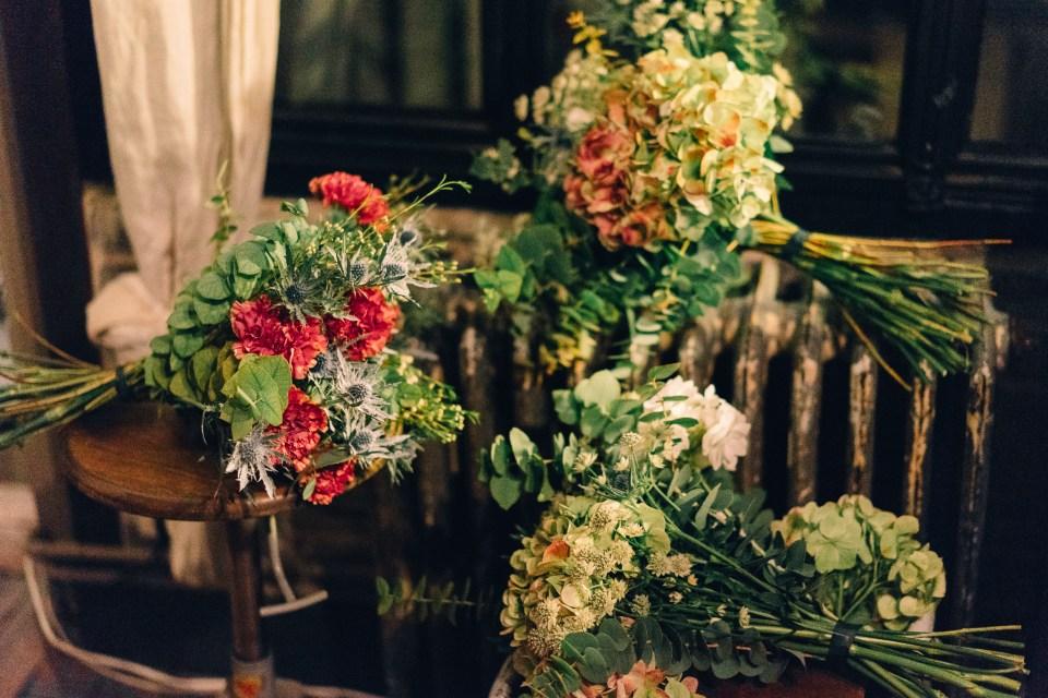 Bouquets de fleurs - Soirée Jardin d'hiver Weleda