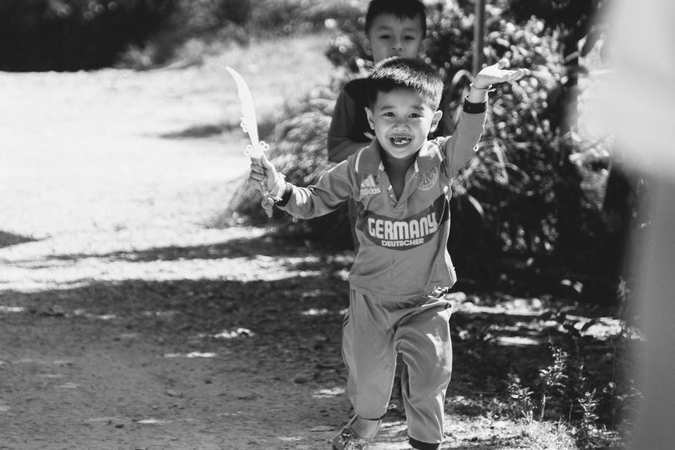 Laos - Enfants qui jouent
