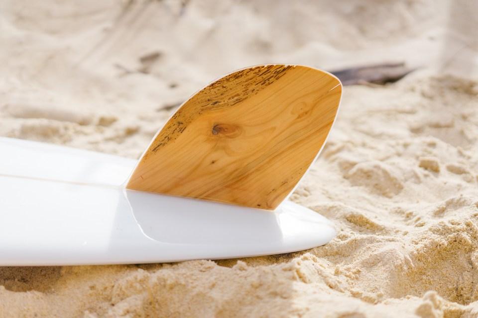 Dix-Deux - Longboard - Surf - Dérive en merisier