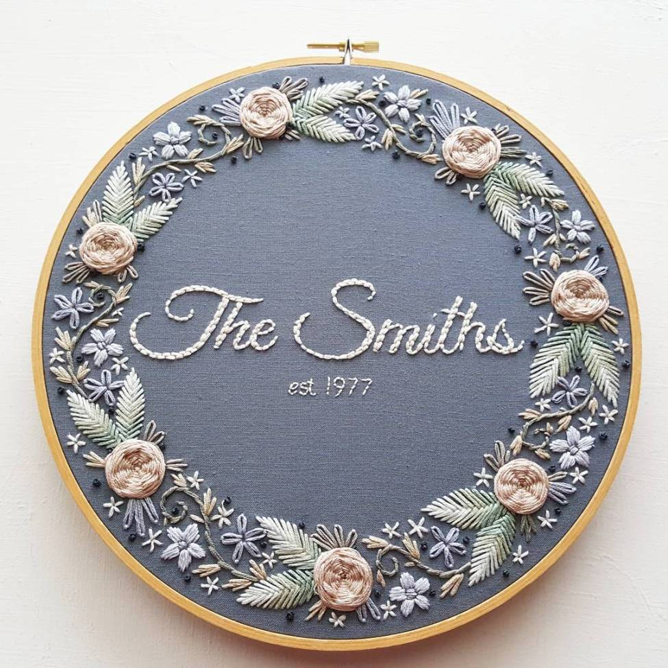 Jessica Long Embroidery - The Smiths