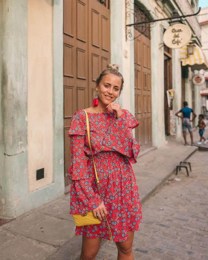 Inspiration robe fleurie - Janni Deler