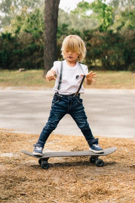 Chipiron - Enfant sur un skateboard