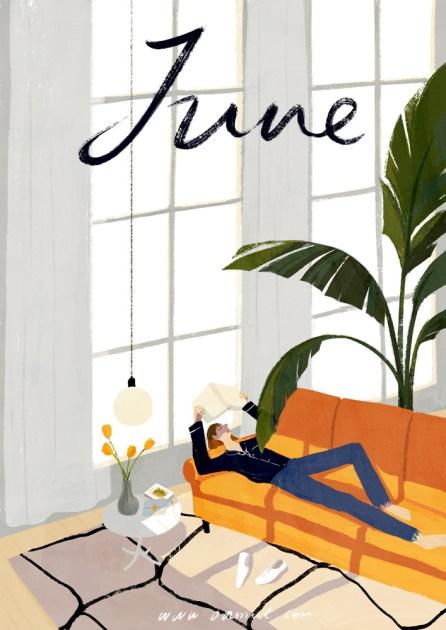 Oamul Lu - Illustration June