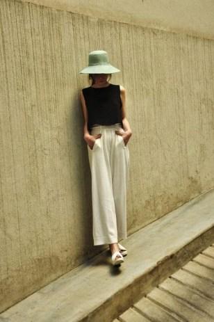 Streetstyle - jupe culotte longue