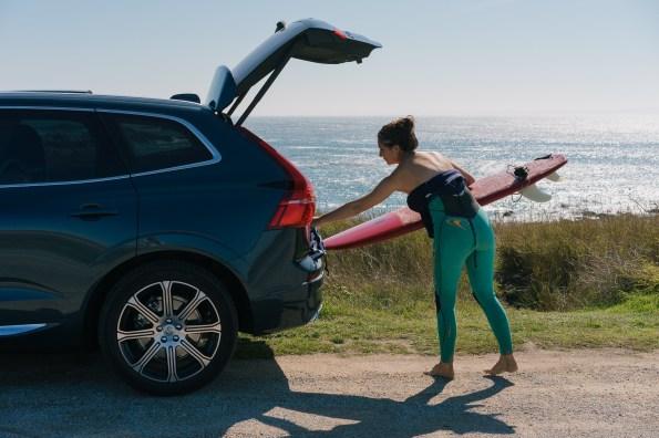 Volvo CX60 - Planche de surf