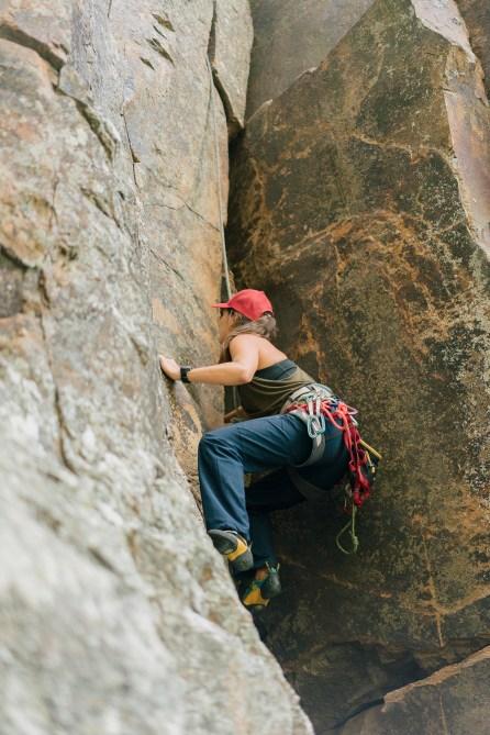 Escalade - Mont French - Australie - Trad gear