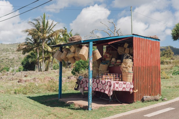 Vendeurs de paniers - Rodrigues