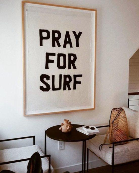 Pray for surf - SF Girl by bay