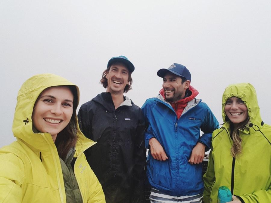 Selfie sous la pluie - Darwin walk - Blue Mountains