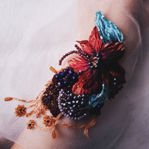 Katerina Marchenko - Broderie sur tulle - Artwork 2