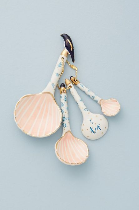 Seashell Measuring Spoon Set