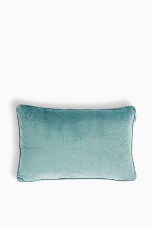 Coussin en velours bleu clair Esprit