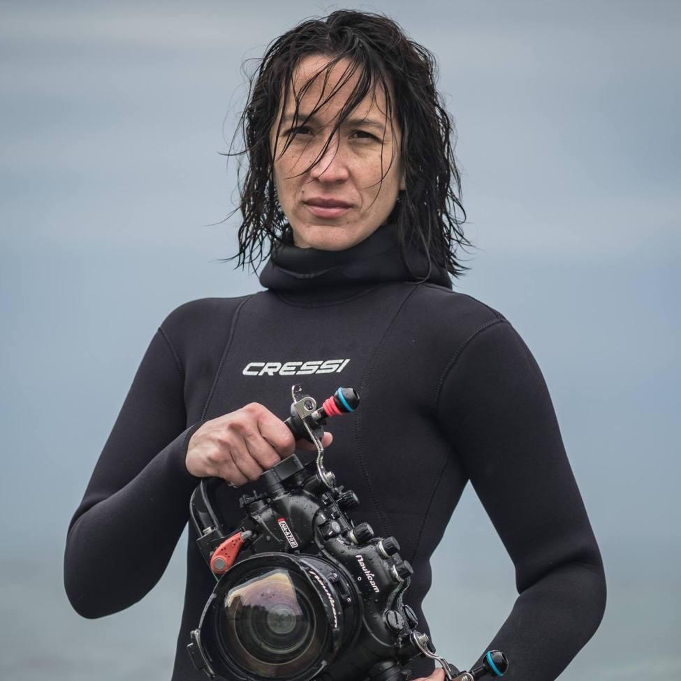 Julie Gautier - apnéiste et réalisatrice