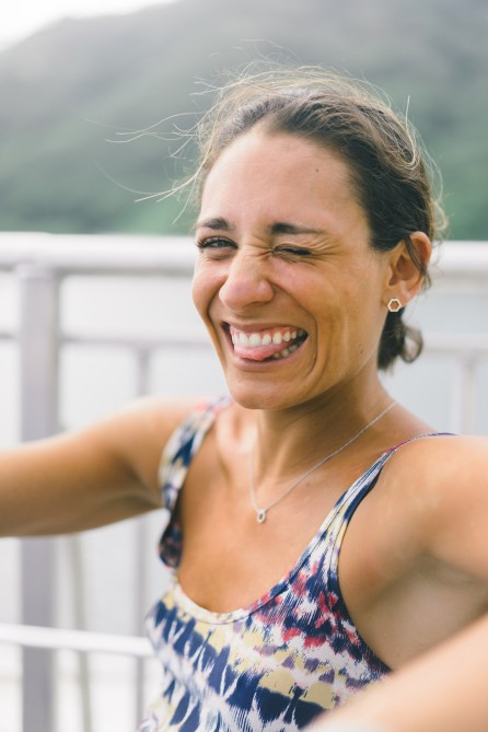 Camille - Portrait - Tahiti