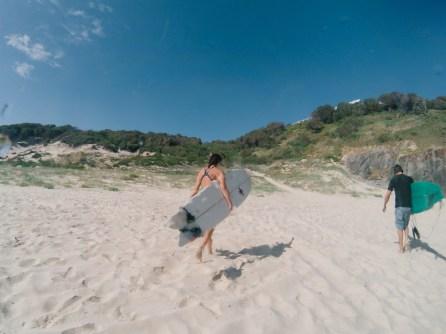 Surfeurs sur la plage - Australie - GoPro