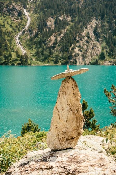 Lac de Gaube - Pyrénées - Sculpture