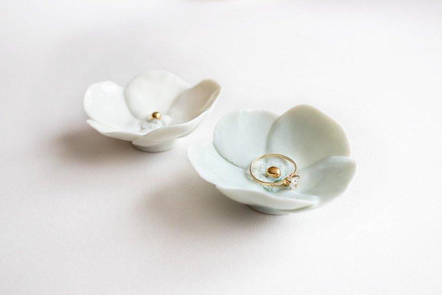 Porte bijoux en porcelaine - Lysa Creation Design