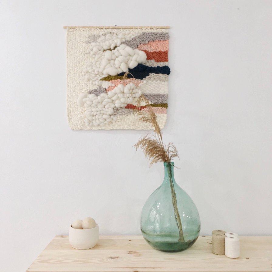 Tissage mural - Julie Weaves