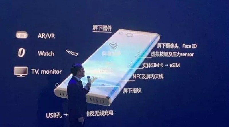 Xiaomi Mi MIX Alpha scalda i motori e si mostra in una slide ufficiale (foto)