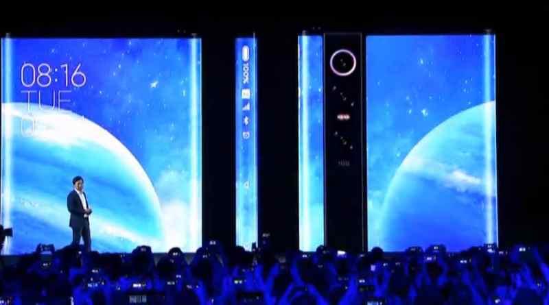Xiaomi Mi MIX Alpha è il primo smartphone al mondo TUTTO INTERAMENTE display ed è impressionante (foto e video)
