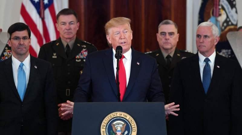 """Iran, Donald Trump: """"L'Iran non avrà mai la bomba atomica"""""""