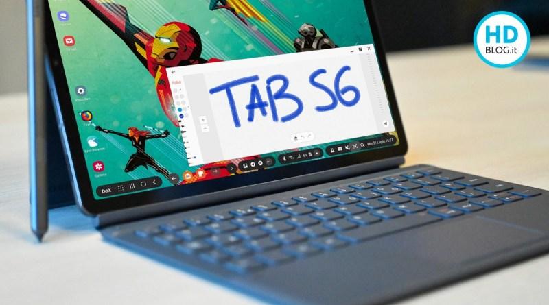 Samsung Galaxy Tab S6 5G, dettagli sulle caratteristiche