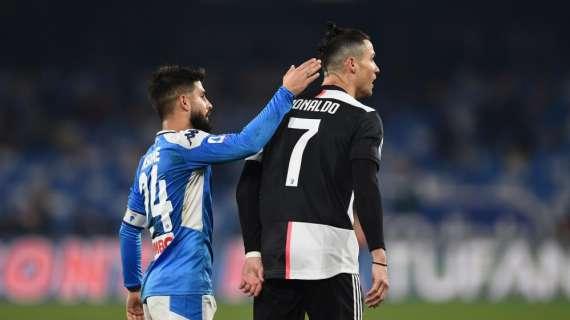 """""""Spero che l'Inter perda col Napoli"""", quelle parole di CR7 che lanciano il nuovo sfottò nerazzurro"""