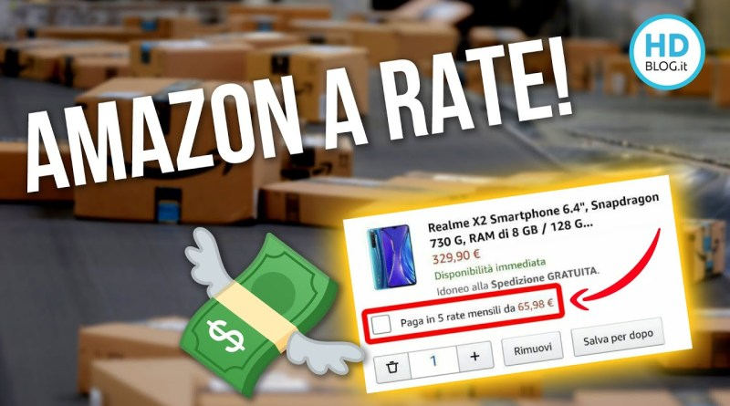 AMAZON ha finalmente LE RATE: Ecco COME FUNZIONA!