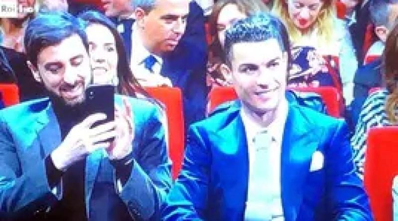 Ronaldo non lascia sola Georgina: è a Sanremo!