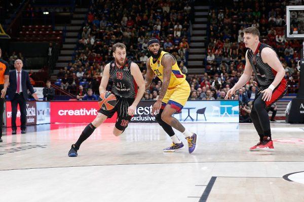 LIVE Barcellona-Olimpia Milano 84-80, Eurolega basket 2020 in DIRETTA: Delaney spezza i sogni milanesi