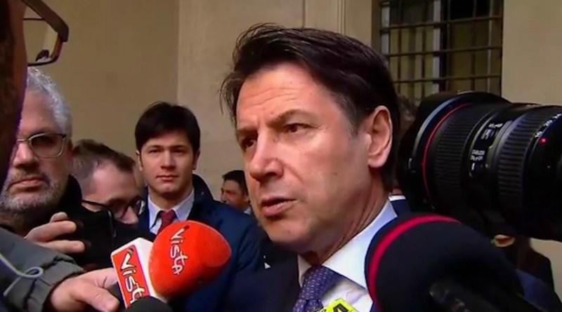 """Conte: """"Italia Viva? La maggiore forza di opposizione viene da loro"""