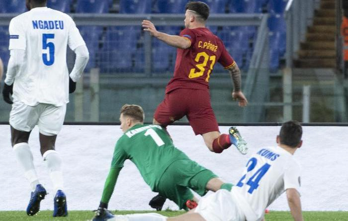 Europa League: Roma-Gent 1-0