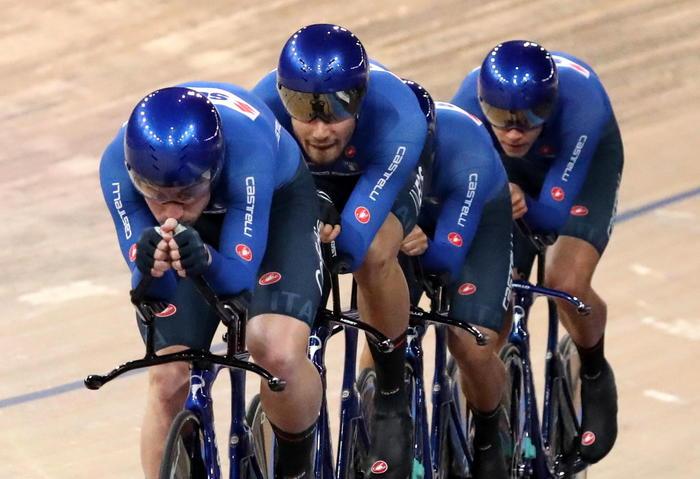 Ciclismo:Mondiali pista;quartetti Inseguimento vanno a Tokyo