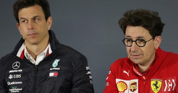 Ferrari-Merecedes, subito rissa sul motore della Rossa: il commento di Toto Wolff, la replica di Biinotto