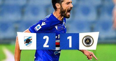 La Sampdoria fa festa nel derby ligure, Candreva è devastante: Spezia ko 2-1 al 'Ferraris'