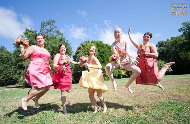 The Most Awkward Bridesmaid Moments Caught On Camera